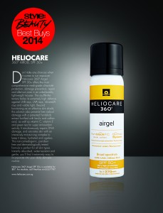 2014 10 - STYLE -Heliocare 360 Airgel